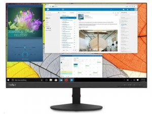 Lenovo ThinkVision S24q-10 - 23.8 colos LED LCD Fekete monitor