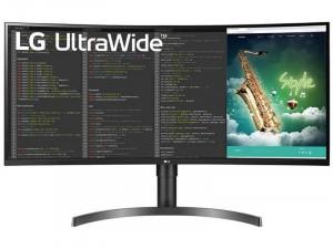LG 35WN75C-B - 35 colos UltraWide™ 21:9 QHD HDR10 Fekete monitor