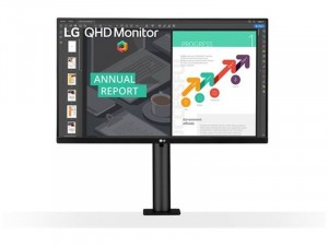 LG 27QN880-B - 27 colos QHD IPS AMD FreeSync HDR10 Fekete monitor