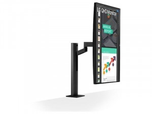 LG 27QN880-B - 27 colos QHD IPS AMD FreeSync HDR10 Fekete monitor