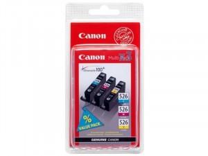 Canon CLI-526 - Ciánkék-Magenta-Sárga - Multipack tintapatron