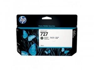 HP B3P22A No.727 - Matt fekete tintapatron