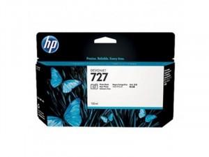 HP B3P23A No.727 - Fotó fekete tintapatron