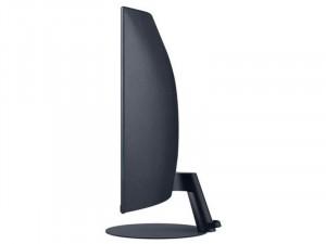 Samsung C27T550FDU - 27 colos LED Ívelt kijelzős Kékes Sötétszürke monitor