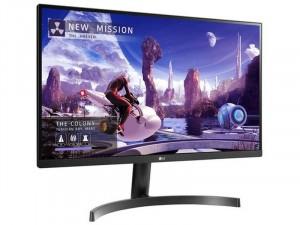 LG 27QN600-B - 27 colos 4K QHD IPS HDR10-zel és AMD FreeSync™ Fekete monitor
