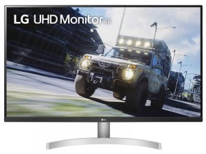 LG 32UN500-W - 32 colos UHD HDR 4K Monitor FreeSync™ Ezüst-Fehér monitor