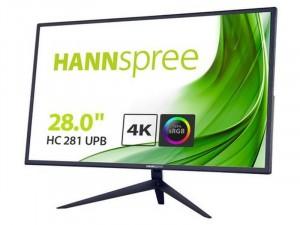 Hannspree HC281UPB - 28 colos FHD LED TN Fekete Monitor