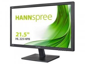 Hannspree HannsG HL225HPB - 21.5 colos FHD LED VA Fekete monitor