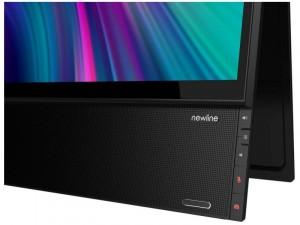 newline FLEX - 27 colos 4K Érintőképernyős Fekete monitor