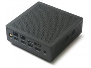 ZOTAC ZBOX-MI620NANO-BE Intel® Core™ i3 Processzor 8130U Barebone Mini Asztali Számítógép