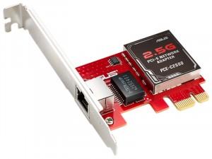 Asus PCE-C2500 PCI-e 2.5G/1G/100Mbps hálózati kártya