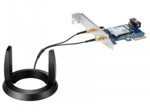 Asus PCI-e AC2100 2100Mbps PCE-AC58BT Bluetooth 5.0 wifi és bluetooth adapter