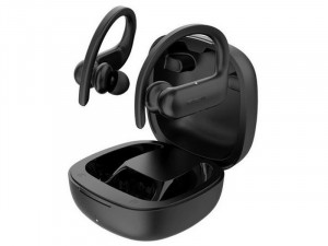 Xiaomi QCY-0048 T6 True Wireless Bluetooth fekete sport fülhallgató