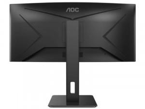 AOC CU34P2A - 34 colos Ívelt 21:9-es 100Hz QHD WLED VA AdaptiveSync Fekete monitor
