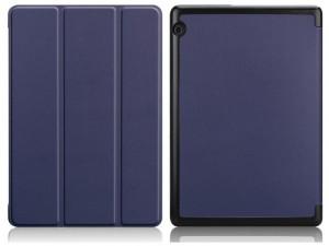 Huawei MediaPad M5 Lite 10.0 Kék Smart Book Műbőr tok