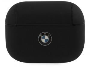 Apple Airpods Pro BMW, BMW logós Fekete bőr tok