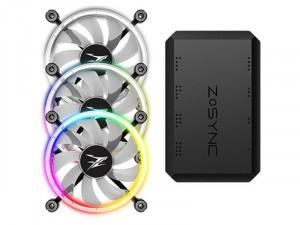 Zalman ZM-LF120A3 - Case Fan - RGB PC Ventilátor (3db) + Vezérlő