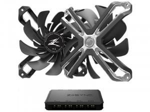 Zalman ZM-SF120A3 - Case Fan - RGB PC Ventilátor (3db) + Vezérlő