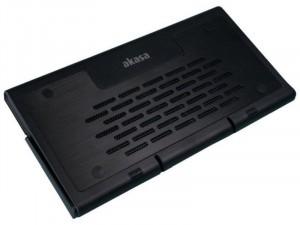 Akasa Echo Fekete notebook hűtő 12-15.4 méretekhez