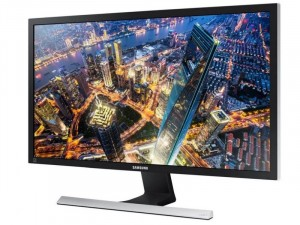 Samsung U28E590D - 28 colos 4K TN LED Fekete-Ezüst monitor