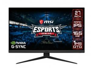 MSI Optix G273QF - 27 colos 165Hz WQHD IPS G-Sync Esport Gamer monitor