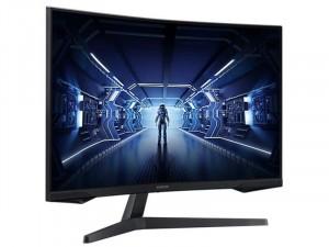 Samsung LC32G55TQWRXEN - 32 colos Ívelt kijelzős 144Hz QHD VA HDR10 Fekete Gamer monitor