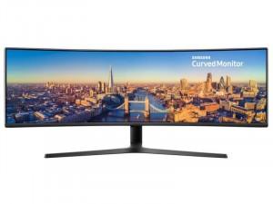 Samsung C49J890DKR - 49 colos Ívelt kijelzős 4K LED 144Hz Fekete monitor