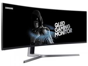 Samsung C49HG90DMR - 49 colos 32:9, Ívelt, 144Hz , VA QLED, FreeSync, Fekete Gaming Monitor