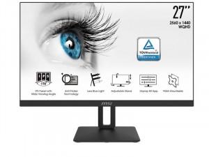 MSI PRO MP271QP - 27 colos WQHD IPS Fekete monitor