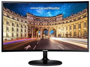 Samsung C24F390FHR - 24 colos Ívelt VA FHD Fekete monitor