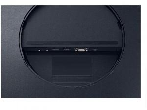Samsung C27T550FDR - 27 colos Ívelt VA FHD Szürke - Sötét Kék monitor