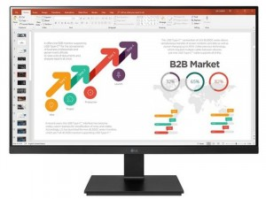 LG 24BL650C-B - 23,8 colos FHD IPS USB Type-C™ Fekete monitor