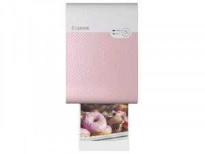 Canon SELPHY Square QX10 - Rózsaszín-Fehér Hordozható Színes fotónyomtató