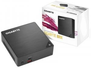 Gigabyte BRIX Intel® Core™ i7 - Intel® I7-8550U,M.2 Foglalat, DDR4 RAM foglalat, Integrált Videokártya, FreeDos Szürke Asztali számítógép