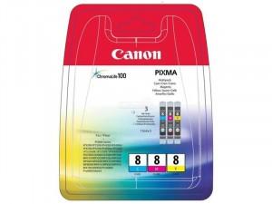 Canon CLI-8 - Cián-Magenta-Sárga - Multipack tintapatron