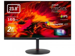 Acer Nitro XV242YPbmiiprx - 23.8 Col 165Hz Full HD FreeSync DisplayHDR400 Fekete monitor