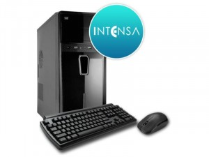 INTENSA PC - HPC-I3S-SSDV8 Intel® i3-10100 Processzor, 8GB, 8GB DDR4, 240GB SSD, NO DVD, Integrált VGA, 400W, BILL-EGÉR, FreeDos Fekete Asztali Számítógép