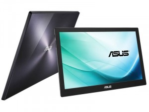 ASUS MB169B Plus 15.6 colos Szürke FullHD Hordozható IPS WLED Monitor