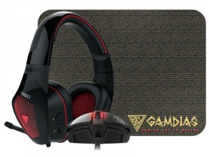 Gamdias Artemis E1 Gaming combo - Zeus E2, EROS E1, NYX E1