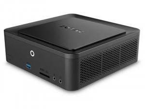 Zotac ZBOX QK5P1000 mini Intel® Core™ i5 Processzor-7200U, DDR4 foglalat, NVIDIA Quadro P1000 4GB, FreeDOS, Fekete barbone asztali PC