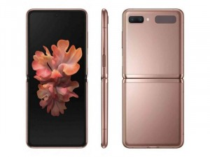 Samsung Galaxy Z Flip 5G F707 256GB 8GB DualSim Misztikus Bronz Okostelefon