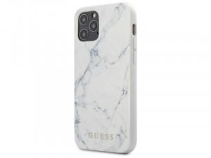 Apple iPhone 12 mini Guess Fehér Polikarbonát - Poliuretán tok