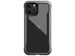 Apple iPhone 12 Pro Max Raptic Defense Shield PC - Aluminium Fekete tok