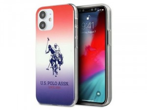 Apple iPhone 12 mini U.S. Polo Több színű, mintás TPU-PC tok