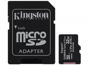 Kingston Adapter CL10 SDCS2/32GB SD Micro 32GB HC memóriakártya, adapter