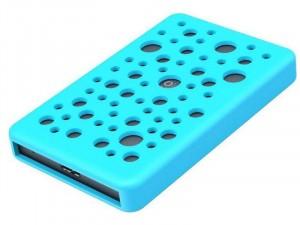 Orico 2789U3-SG-PRO 2.5 SATA USB3.0 Külső merevlemez ház Kék Szilikonnal