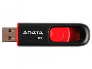 ADATA C008 16GB USB 2.0 Fekete-Piros Flash Drive