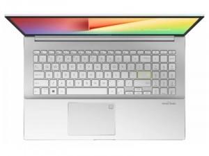 ASUS VivoBook S15 S533EA-BN261 - 15.6 FHD Matt, Intel® Core™ i7 Processzor-1165G7, 8GB DDR4, 512GB SSD, Intel® Iris Xe, FreeDOS, Fehér Laptop