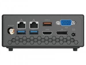 ZOTAC ZBOX CI329 nano Intel® Celeron N4100, 4GB DDR4, 64GB SSD ,Intel® UHD Graphics, Win 10 Pro, Fekete asztali PC