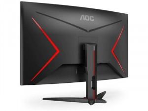 AOC C32G2ZEBK - 32 colos Ívelt 240Hz FHD VA WLED Fekete-Piros Gamer monitor